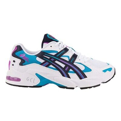 NEW Mens Asics Gel-Kayano 5 OG Running Shoes White / Midnight - Choose Your Size
