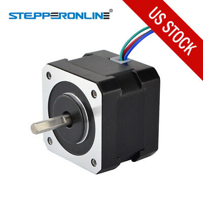 Us Ship Nema 17 Stepper Motor 26ncm36.8oz.in 12v 0.4a Diy 3d Pinter Cnc Reprap