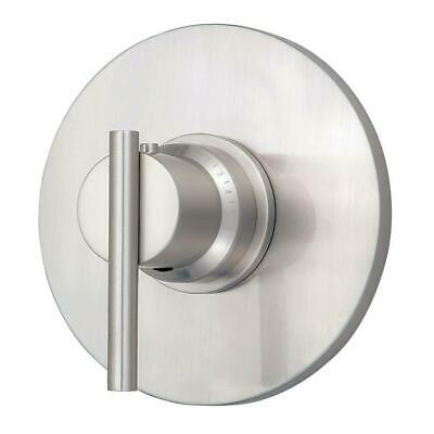 4 In Thermostatic Trim (Danze Parma 3/4 in. Thermostatic Shower Trim Only in Brushed Nickel  )