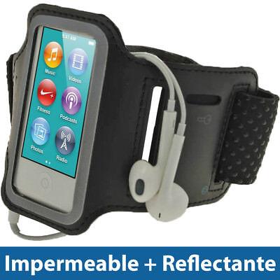 Nero Brazalete Armband para Nuevo Apple iPod Nano 7ª Generacion 7G Sport Case