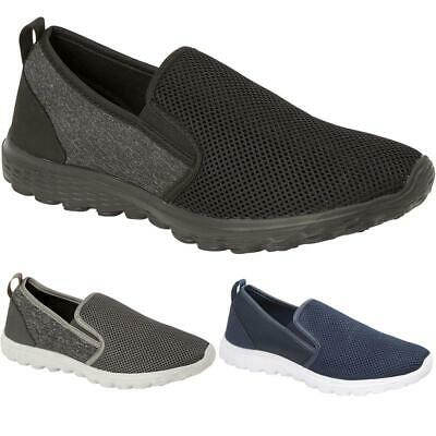 New Mens Fitness Sports Boys Slip On Running Gym Casual Trainers Shoes Sizes UK Boys Urban High Top