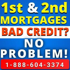 Second Mortgage / 2nd Mortgage Lenders / 3rd Mortgage - Get Approved On Home Equity Regardless Of Credit or Income