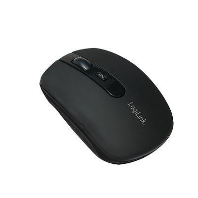 LogiLink optische Bluetooth 3.0+EDR / Class 2 Maus / Mouse, 1000/1600 dpi