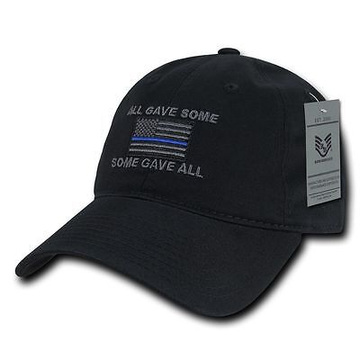 All Gave Some Some Gave All American Flag Patch Relaxed Graphic Baseball Hat