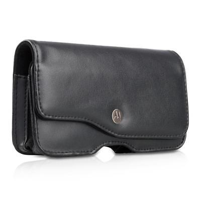 Motorola Leather Pda Case - MOTOROLA SG-ES4021210-01R LEATHER HOLSTER CASE FOR ES400 PDA BLACK POUCH SLEEVE