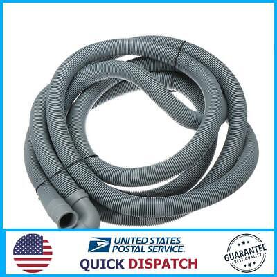 22 Mm Flex Tube (4M Wash Machine Dishwasher Drain Hose Outlet Water Pipe Flexible Extension 22mm)