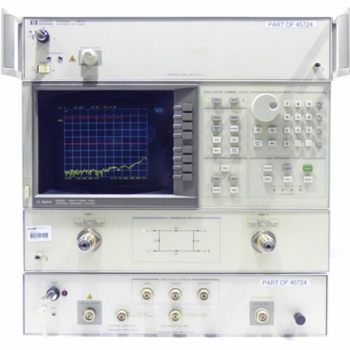 HP Agilent 8703A Lightwave Component Analyser 1550nm / 130MHz - 20GHz AND HP
