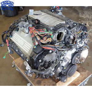 bmw 745li engine diagram 114k complete engine motor long block bmw e65 745li 745i ... 1990 bmw 525i engine diagram #4