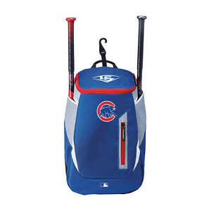 a1882fc490cb Louisville Slugger Chicago Cubs Genuine Stick Backpack for sale ...