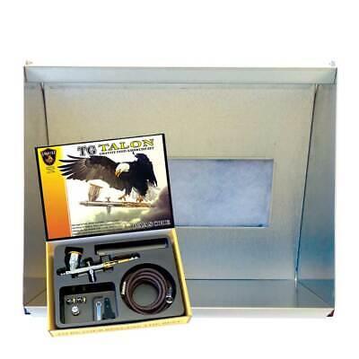 Paasche HSSB-22-16 Spray Booth & TG-3F Airbrush Set