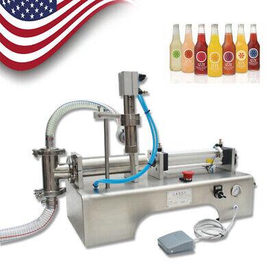 40 Bottlesmin 100-1000ml Pneumatic Paste And Liquid Filling Machine Shampoo Oil