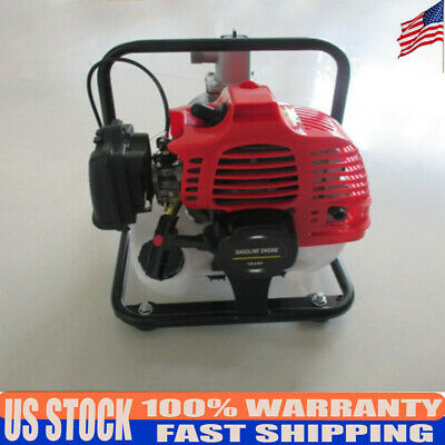 Gas Powered Water Pump Flood Irrigation Portable 2hp Water Transfer Pump 43cc Us