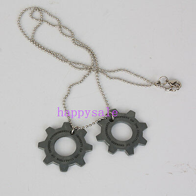 3D Wheel Shape Necklace Memorabilia Pendant Necklace Chain Personality Easter