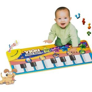 New Musical Kid Piano Baby Crawl Mat Animal Educational  Music Soft Kick Toy
