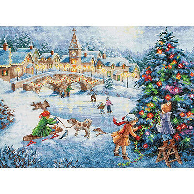 Dimensions Cross Stitch Kit - Winter Celebration
