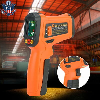 Pm6530d -50800 Non-contact Digital Infrared Thermometer Laser Gun Pyrometer