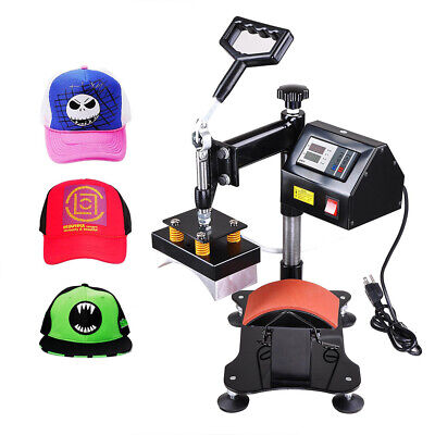 Digital Hat Cap Heat Press Machine Sublimation Transfer Diy Clam Shell Printer