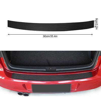 90cm Car Rear Bumper Sill Body Guard Protector Rubber Plate Trim Cover Strip UK