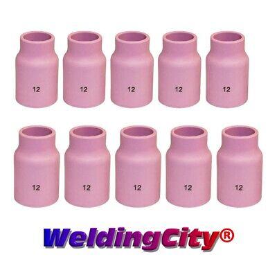 Weldingcity 10-pk Tig Welding Large Gas Lens Ceramic Cup 53n87 12 Us Seller