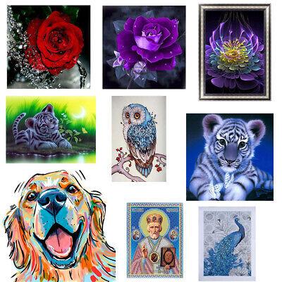 DIY 5D Diamond Painting Embroidery Cross Craft Stitch Art Kit Home Decor
