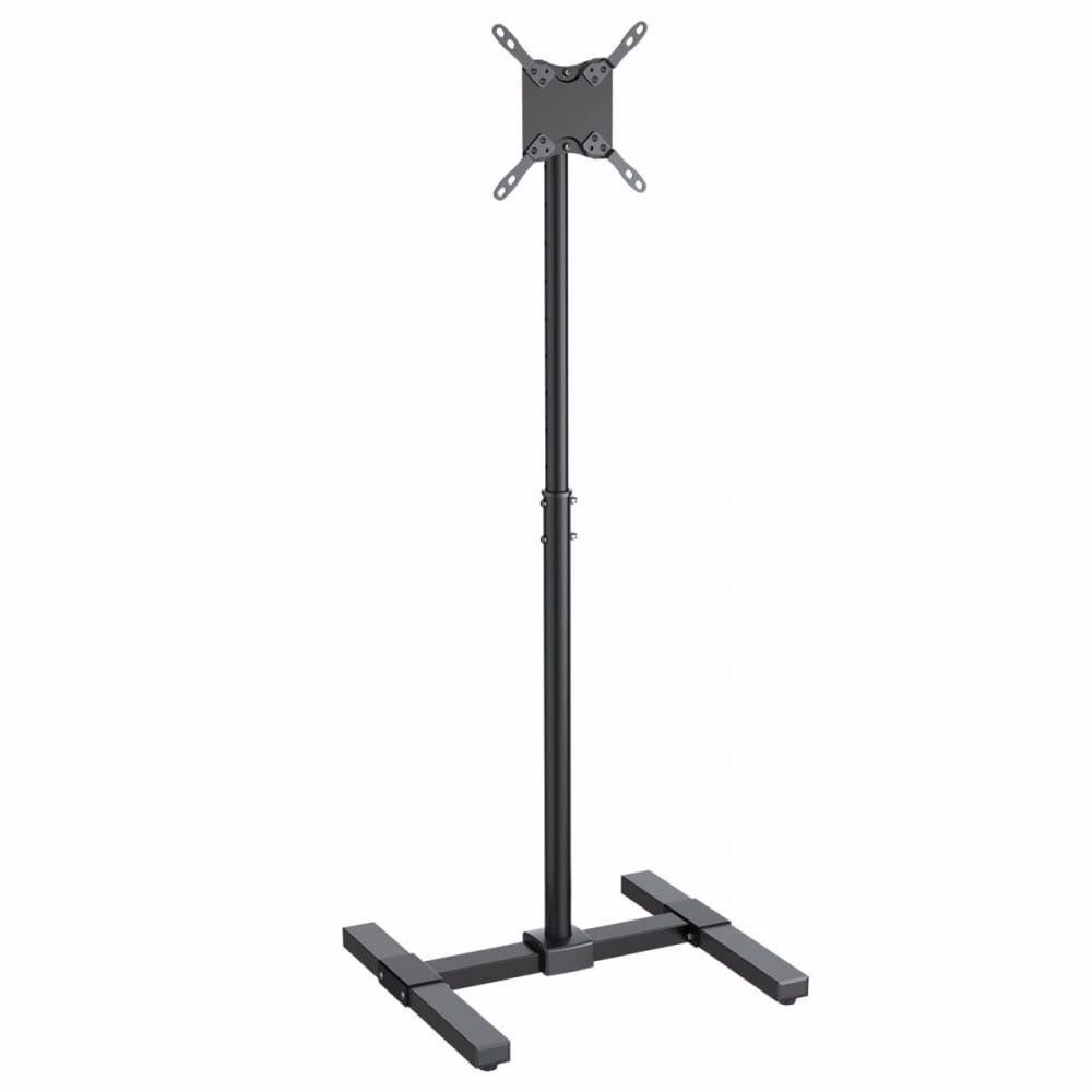 """Sturdy Black Monitor/TV Display Stand for 13""""-36"""" TVs"""