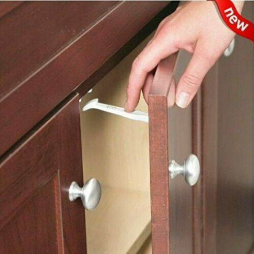 Safety 1st 14 Pack Wide Grip Cabinet Locks & Drawer Latches Child Proof