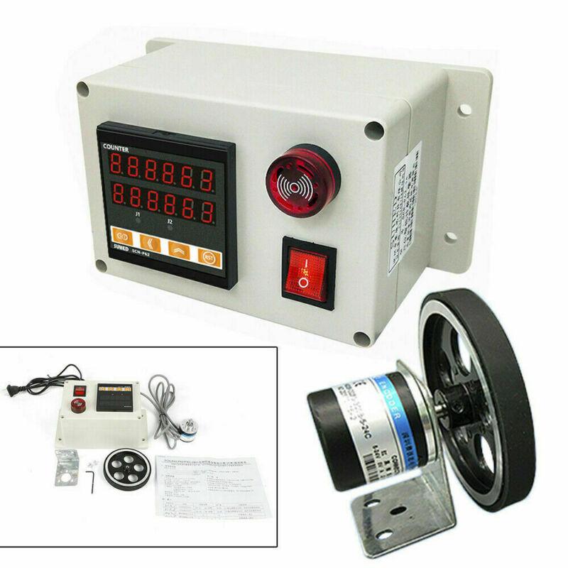 Digital Pulse Length Meter Counter Rolling Wheel Measuring Equipment 300 ppr