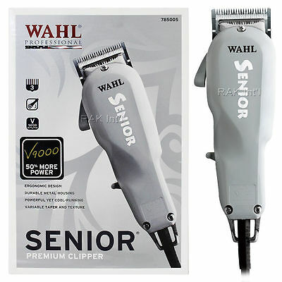Wahl Senior Premium Styling Hair Clipper Trimmer Durable Metal Housing  8500