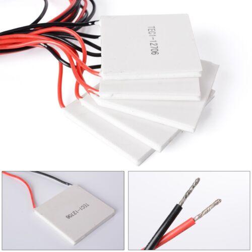 5 PCS - TEC1-12706 12706 TEC Thermoelectric Cooler Peltier 12V  - US Free Ship