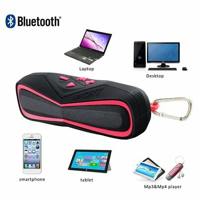 Mini Bluetooth Speaker  IP X7 Waterproof Portable Audio Headphones 3.5mm Cable  for sale  Rowland Heights