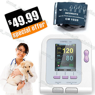 Vet Veterinary Use Digital Arm Blood Pressure Monitor Heartusa Stock