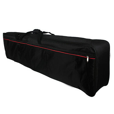 Portable 88-Key Keyboard Electric Piano Padded Case Gig Bag Oxford Cloth