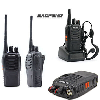 Genuine Baofeng BF-888S Walkie Talkie Two-way Radio 16CH 5W UHF 400-470MHz 1 Pcs on Rummage