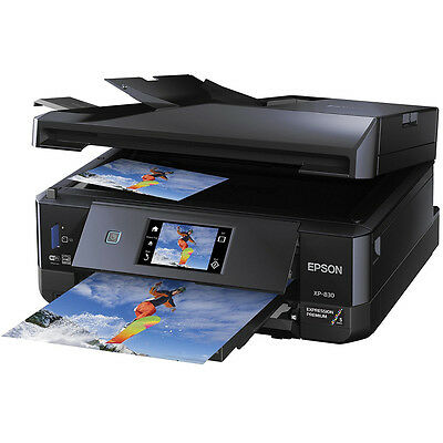 Epson America Expression Xp 830 Wireless Small In One Color Printer W  Scanner
