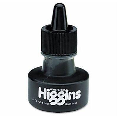 Higgins India Ink 1oz-matte Black