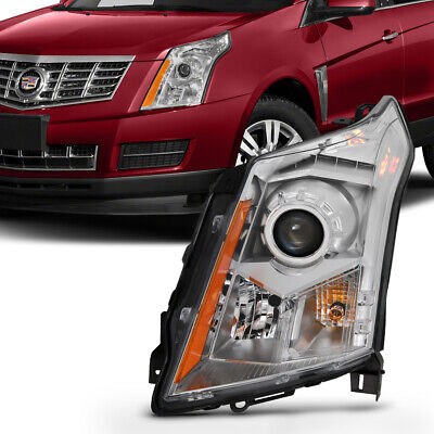 10-16 Cadillac SRX Left Driver Side Halogen Headlight Replacement Factory Style
