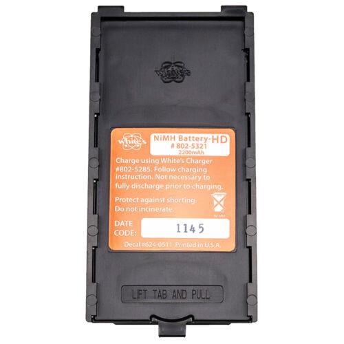 Whites Heavy Duty NiMH Rechargeable Battery 2200 mAh Capacity 802-5321