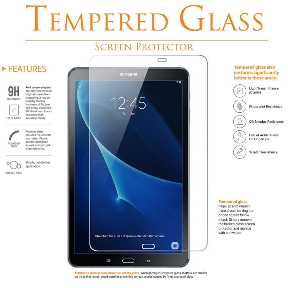 Купить Tempered GLASS / FILM Screen Protector for SAMSUNG GALAXY TAB A 7.0 8.0 9.7 10.1