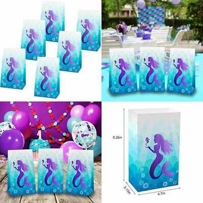Mermaid Party Supplies (Mermaid Party Bags Gifts Supplies &Birthday PartyDecorations Pack Of 24.)