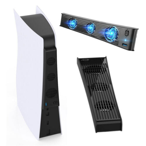 PS5 PlayStation 5 USB Cooling Fan Cooler for Digital & Standard Edition Consoles