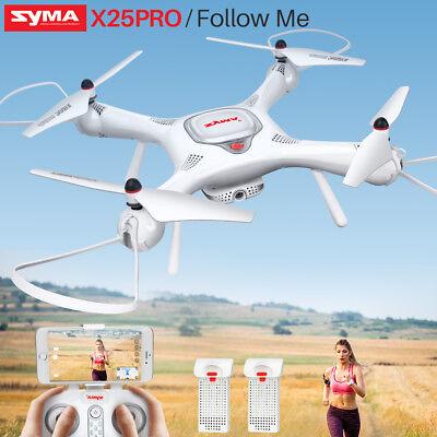 SYMA X25PRO GPS Drone Follow Me FPV Wifi 720P Camera Quadcopter Selfie Video VR