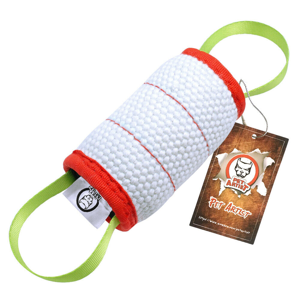 Dog Training Tug Toys: Durable Round Dog Bite Toy Pet Training Tug Toy For K9