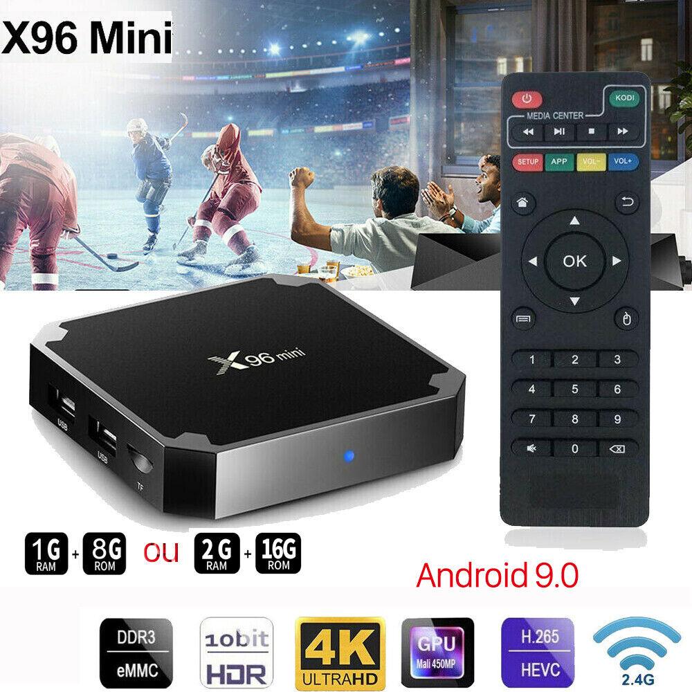 X96 MINI Android 9.0 TV BOX Boîtier Numérique Intelligent K18.0 WIFI Multimédia