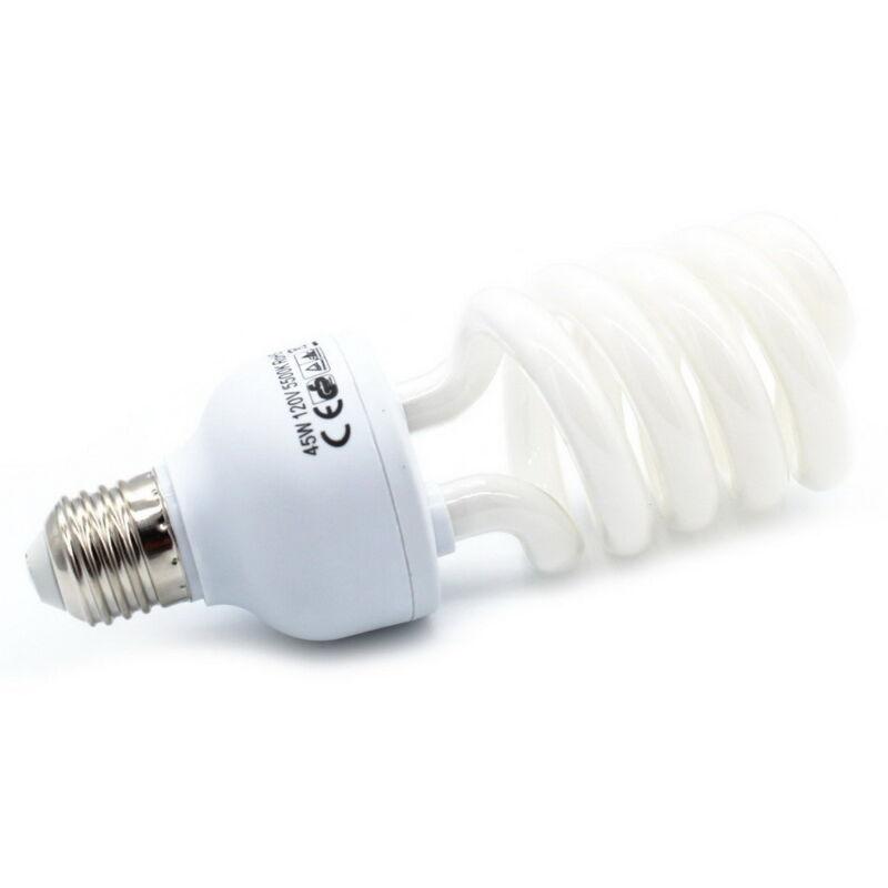 110V 45W 5500K Saving Energy Daylight Photo Photography Studio Light Bulb