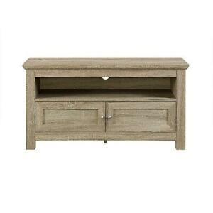 Walker Edison BB44CSAG TV Stand Cabinet for Most Flat-Panel up to 48 Driftwood (Open Box) Markham / York Region Toronto (GTA) Preview