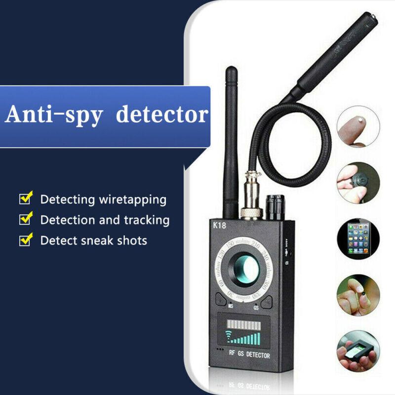 K18 Anti-spy Hidden Camera Detector RF Signal GPS Audio Finder Tracker Scanner