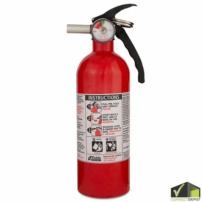 Set Of Kidde Fire Extinguisher Home Car Safety Dry Chemical Garage Kitchen 5 Bc