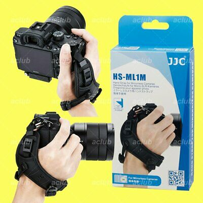 JJC Leather Hand Wrist Grip Strap for Mirrorless Camera Canon EOS R RP M5 M6 M50