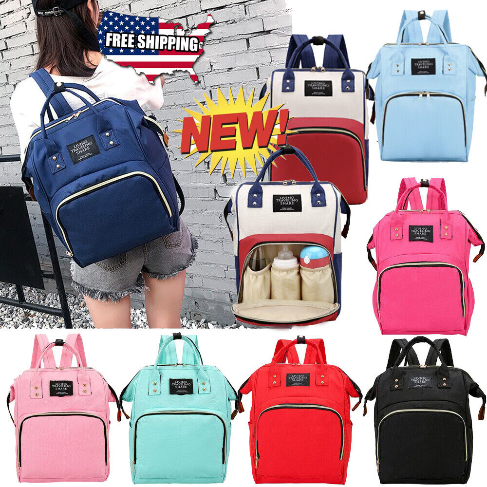 Beyle Baby Nappy Changing Backpack Bags Multi-Function Diaper Nappy Backpack