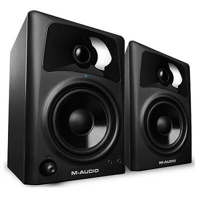M-Audio AV42 Professional 20W Home Recording Studio Monitor 4